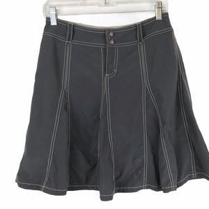 Athleta Whatever Activewear Tennis Skirt Gray sz 2